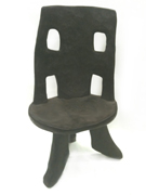 Ethiopian chair african wood chair carved chair